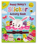 Happy Bunny's Sticker Activity Book Over 200 Stickers (Easter Theme)