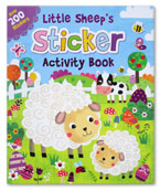 Little Sheep's Sticker Activity Book Over 200 Stickers (Easter Theme)