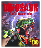 Dinosaur Sticker Jigsaw Book (With Over 100 Stickers!)