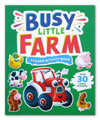 My Busy Little Farm Sticker Picture Book with Over 30 Large Stickers
