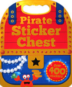 Pirate Sticker Chest - Sticker Activity Book Over 400 Stickers