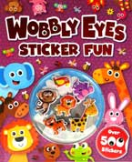 Wobbly Eyes Sticker Fun Book with over 500 stickers