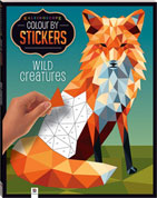 Kaleidoscope Colour by Stickers WILD CREATURES Mosaic Sticker Book