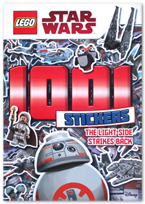 Lego Star Wars : 1001 Stickers (The light side strikes back)