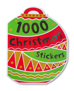 1000 Christmas Stickers Activity Book