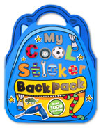 My Cool Sticker Backpack Book with over 1000 Stickers