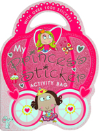 My Princess Sticker Activity Bag Book with over 1000 Stickers