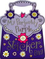 My Perfectly Purple Sticker Bag Book with over 500 Stickers