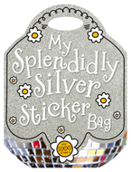 My Splendidly Silver Sticker Bag Book with over 1000 Stickers
