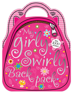 My Girly Swirly Backpack Sticker Bag Book with over 1000 Stickers