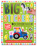 Farm Sticker Activity Book - Big Stickers for Little Hands