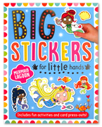 Mermaid Lagoon Sticker Activity Book - Big Stickers For Little Hands