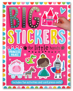 Princess Palace Sticker Activity Book - Big Stickers For Little Hands