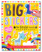 Magical Unicorns Sticker Activity Book - Big Stickers For Little Hands