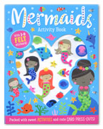 Mermaid Activity Book With 3-D Felt Stickers! (Packed With Sweet Activities and Cute Card Press-outs!)