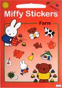 Miffy Stickers Farm (170pcs stickers)