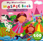 My Marvellous Mosaic Book Includes 7 Mosaic Pictures Over 500 Stickers (PINK)