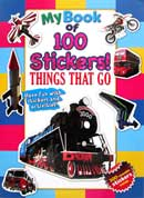 My Book of 100 Stickers! THINGS THAT GO
