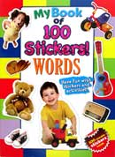 My Book of 100 Stickers! WORDS