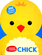 CHICK - Sticker Friends Activity Book with 300 Reusable Stickers