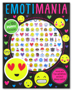 Puffy Sticker Activity Book : Emotimania Over 100 Stickers (Packed with fun activities and emoti press-outs!)