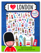 Puffy Sticker Activity Book : I Love London Over 100 Stickers (Packed with fun activities, puffy stickers and colourful press-outs!)