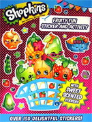 Shopkins Fruity Fun Sticker and Activity with over 150 sweet scented stickers