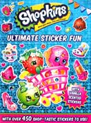 Shopkins Ultimate Sticker Fun Book with over 450 vanilla scented stickers