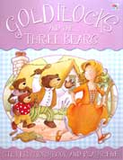 Goldilocks and The Three Bears Sticker Storybook and Playscene (with over 75 Reusable Stickers)