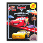Sticker Book Treasury DISNEY PIXAR CARS 3 with Over 350 Reusable Sticker