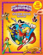 Sticker Book Treasury DC Super Friends with Over 350 Reusable Sticker