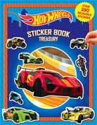 Sticker Book Treasury HOT WHEELS with Over 350 Reusable Sticker