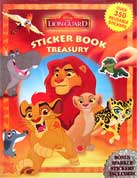 Sticker Book Treasury Disney Lion Guard with Over 350 Reusable Sticker