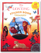 Sticker Book Treasury Disney The Lion King with Over 350 Reusable