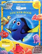 Sticker Book Treasury Finding Nemo & Finding Dory with Over 350 Reusable Sticker