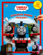 Sticker Book Treasury Thomas & Friends with Over 350 Reusable Sticker