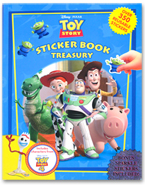 Sticker Book Treasury Disney Pixar Toy Story 4 with Over 350 Reusable