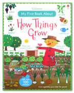 Usborne My First Book about How Things Grow with over 100 stickers