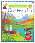 Usborne My First Book about Our World with over 100 stickers