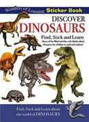 Discover Dinosaurs Wonders of Learning Sticker Book