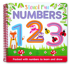 Stencil Fun Numbers - Packed with numbers to learn and draw