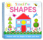 Stencil Fun Shapes - Packed with shapes to learn and draw