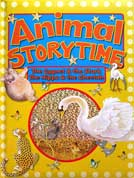 Animal Storytime The Cygnet & The Stork, The Hippo & The Cheetah Board Book