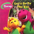 Barney Let's Go to The Zoo Story Book