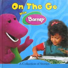 On The Go with Barney BLUE - A Collection of Stories includes 5 stories