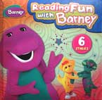 Reading Fun with Barney includes 6 stories