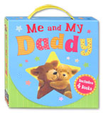 Me and My Daddy Story Books Box Set (1 box contains 4 story books)