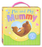 Me and My Mummy Story Books Box Set (1 box contains 4 story books)