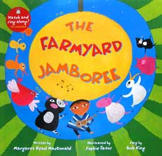 The Farmyard Jamboree story book with music CD (audio & video animation)