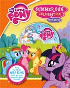 My Little Pony Summer Sun Celebration Book and CD